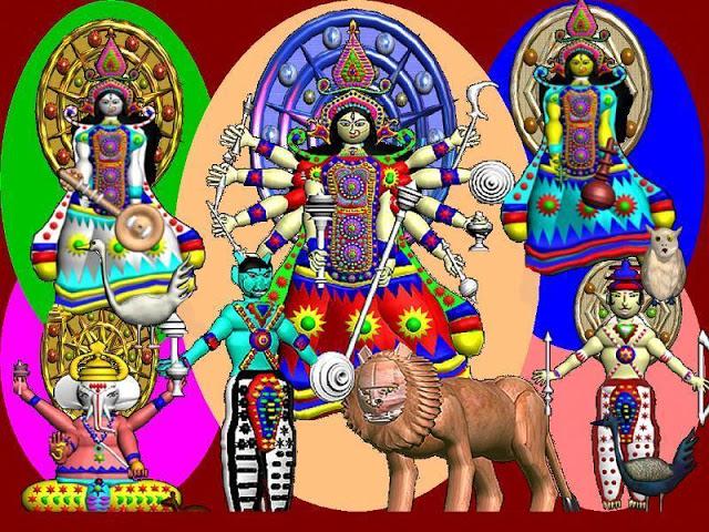 শ্লীলতাহানির ভয়, লক্ষ্মী, সরস্বতী মর্তে আসতে নারাজ