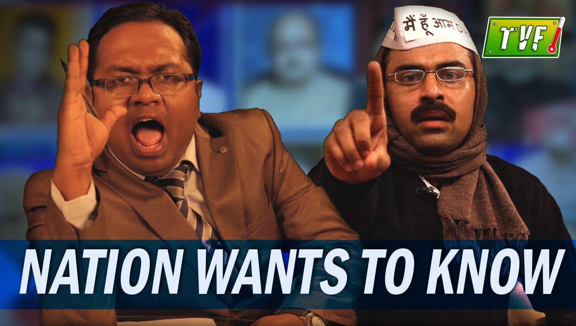TVF Talk Show – Barely Speaking with Arnub : SRK (Episode 1)